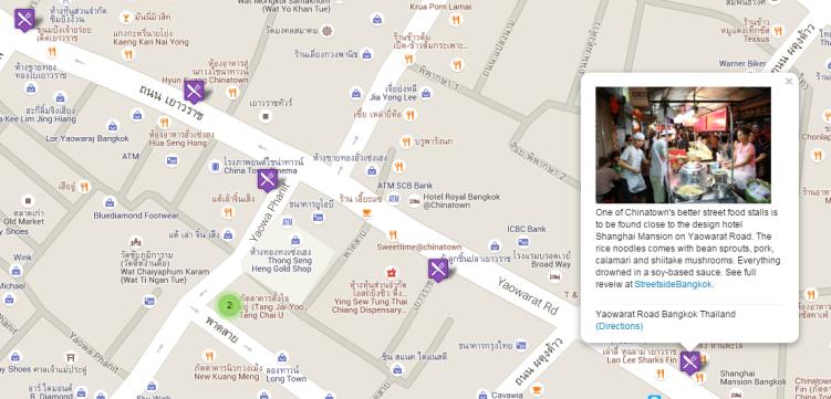 Bangkok Food Map III